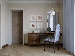 EJ Studio Colonial style bedroom