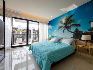 木皆空間設計 Dormitorios de estilo tropical