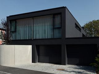 Fashion Architekt Zoran Bodrozic Minimalistische Häuser Beton Schwarz