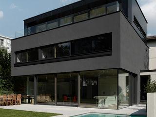 Grey Architekt Zoran Bodrozic Minimalistische Häuser Beton Grau
