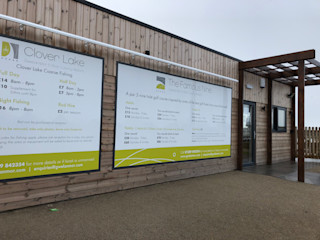 Gwel an Mor, Portreath. New Golf Range Building With Frames Offices & stores Wood