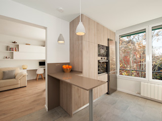 Sincro Built-in kitchens Brown