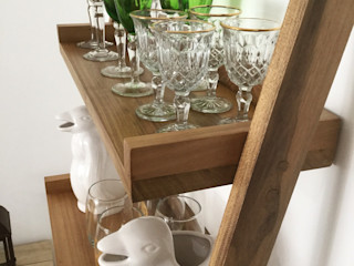Barragan Carpinteria Living roomShelves Parket