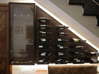 Bloco Z Arquitetura Modern wine cellar