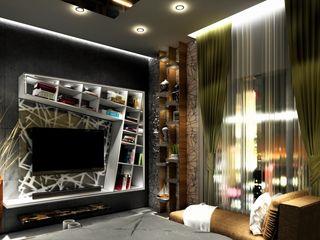 Design Evolution Lab Modern Bedroom Solid Wood Brown