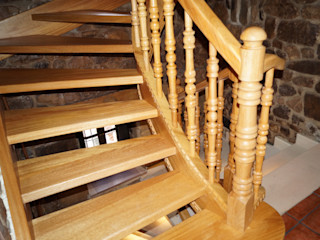 Escalera helicoidal Carpinteria Eguren SL HogarArtículos del hogar