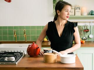 The Khoollect Kitchen by deVOL deVOL Kitchens Кухонні прилади Дерево Зелений
