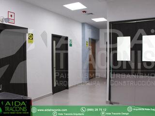 AIDA TRACONIS ARQUITECTOS EN MERIDA YUCATAN MEXICO Hospitales de estilo moderno