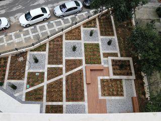 AYDOĞAN İNŞAAT-GÖZTEPE Bahçevilla Peyzaj Tasarım Uygulama Modern Bahçe
