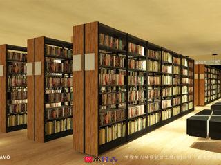NTUS Library大學圖書館設計案 - 京悅設計 京悅室內裝修設計工程(有)公司 真水空間建築設計居研所