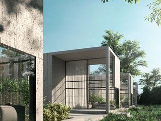 Визуализация по 3D марафону от CG-Incubator Alyona Musina Дома в стиле минимализм