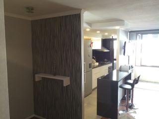 PICHARA + RIOS arquitectos Modern kitchen Engineered Wood Black