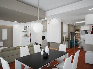 olivia Sciuto Salas de estilo moderno