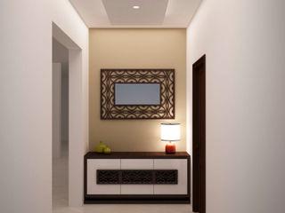 Corridor storage homify Modern Corridor, Hallway and Staircase