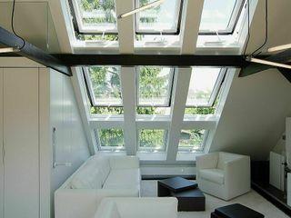 schüller.innenarchitektur غرفة المعيشة زجاج Transparent