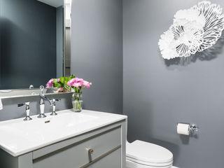 Frahm Interiors Modern Bathroom Grey