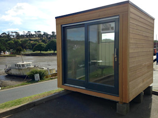 School Box Building With Frames Prefabricated home Wood