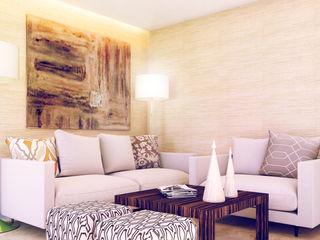 Saloni Narayankar Interiors Ruang Keluarga Modern