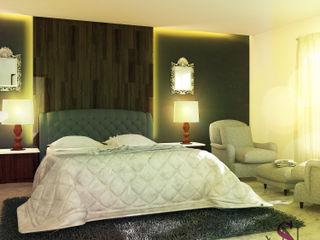 Saloni Narayankar Interiors Kamar Tidur Modern