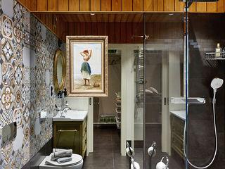 Ольга Райская Industrial style bathroom