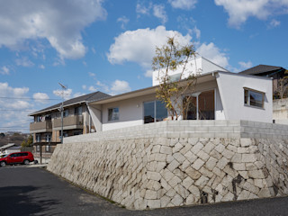 toki Architect design office 庭院 木頭 White