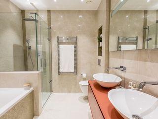 Apartment redesign and refurbishment Hampstead Design Hub Modern bathroom Ceramic