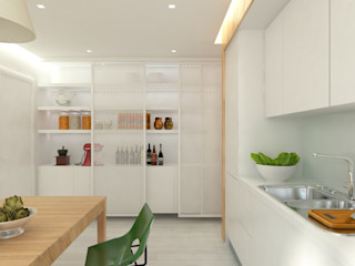 ULA architects مطبخ