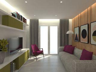 ULA architects غرفة المعيشة