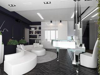 Suiten7 Klasik Oturma Odası Cam Beyaz