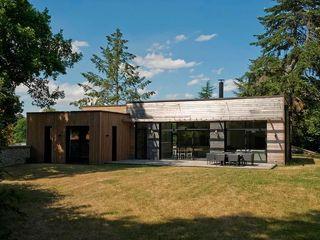 EC-Bois   Maison Aubry   Montfort l'Amaury EC-BOIS Chalets & maisons en bois Bois d'ingénierie Effet bois