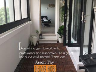 Balcony Design Designer House Balconies, verandas & terracesAccessories & decoration Aluminium/Zinc Black