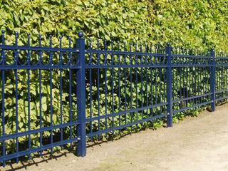 Nordzaun Front garden Iron/Steel Blue