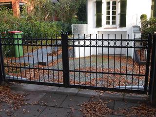 Nordzaun Front garden Iron/Steel Grey