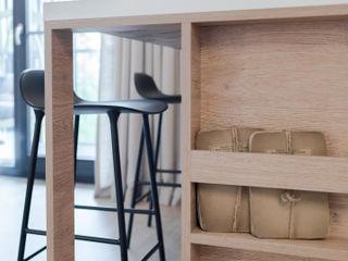 formativ. indywidualne projekty wnętrz CocinaAlmacenamiento Madera Acabado en madera