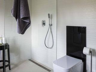 AFormA Architektura wnętrz Anna Fodemska Modern bathroom Black