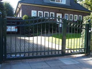 Nordzaun Front garden Iron/Steel Green