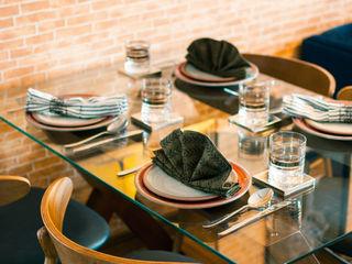 Statera Design Salas de jantar rústicas