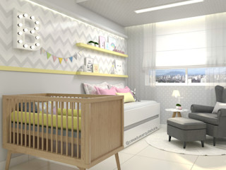 CASA DUE ARQUITETURA Modern nursery/kids room