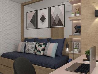 HOME OFFICE CASA DUE ARQUITETURA Escritórios modernos