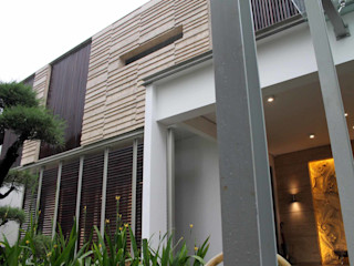Residential_Landed_Semi-Detached House daksaja architects and planners Rumah Modern
