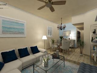 Citlali Villarreal Interiorismo & Diseño Classic style living room