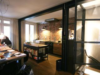 YBB Architecture Amsterdam ห้องครัว