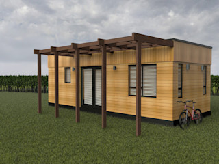 OFFSITE CONSTRUCTION CORNWALL Building With Frames Log cabin Wood
