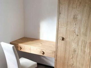 RI-NOVO Rustikale Schlafzimmer Holz Braun