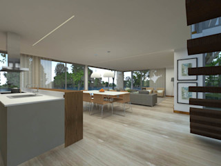 ShiStudio Interior Design Modern living room