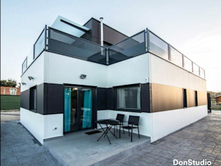 Vivienda Escalona DonStudio Casas de estilo moderno
