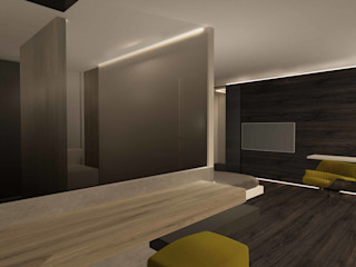 appartamento luxury Giemmecontract srl. Camera da letto moderna