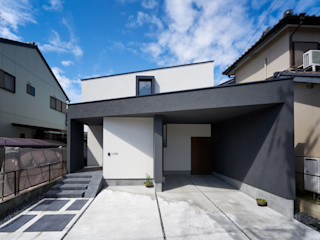 キリトリハウス 35° H建築スタジオ モダンな 家