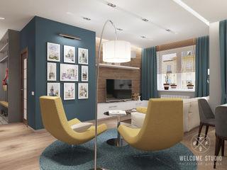 Мастерская дизайна Welcome Studio Soggiorno minimalista