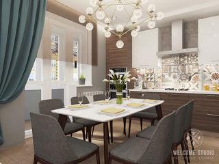 Мастерская дизайна Welcome Studio Cucina minimalista